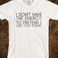 DON&#x27;T HAVE THE ENERGY - glamfoxx.com