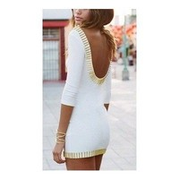 Beautiful Backs: Open & Low Back Dresses & Shirts