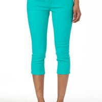 Taylor Super-Skinny Crop Sweet Mint