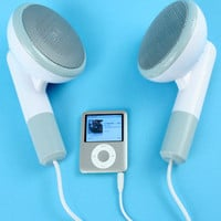 Fred &amp; Friends GIANT Earbud Speakers
