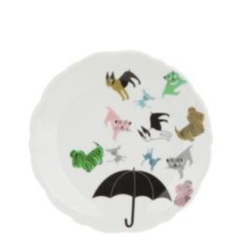 Raining Cats & Dogs Sweeties Plate
