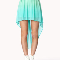 High-Low Ombr Skirt