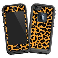 Orange Leopard &amp;quot;Protective Decal Skin&amp;quot; for LifeProof 5 Case: Cell Phones &amp; Accessories