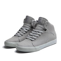 SUPRA SOCIETY MID Shoe | GREY - GREY | Official SUPRA Footwear Site