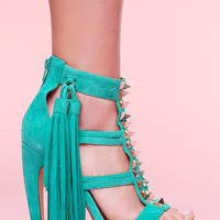 Strung Platform Pump in  Features Color Coded at Nasty Gal