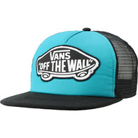 Vans Beach Girl Turquoise &amp; Black Snapback Trucker Hat