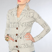 The Wild Within Cardigan in Heather Gray : Obey : Karmaloop.com - Global Concrete Culture