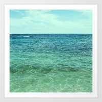 Salt Water Art Print by MN Art