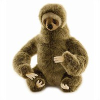 Hansa Toys Three-Toed Sloth Stuffed Animal