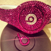 Blinggg Dr Dre Beats Headphones by BLINGGG on Etsy