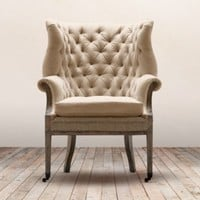 Deconstructed 19th C. English Wing Chair |  | Restoration Hardware