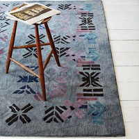 Alyson Fox Stencil Wool Rug