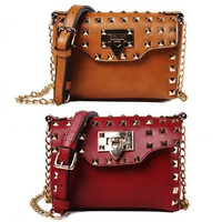 Hot Rivet Satchel from Hallomall