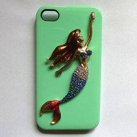 iphone 5 case - mermaid iphone 4 case, mint iphone 4s cases, iphone 5 case 4s skin
