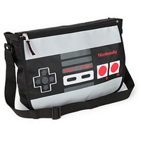 ThinkGeek :: Nintendo Reversible Messenger Bag