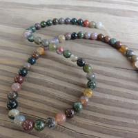 Fancy Jasper, 6mm beads, Full Strand