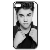 Justin Bieber B/W New Style Durable Iphone 4,4s Case: Cell Phones & Accessories