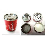 Coke Can Herb Grinder
