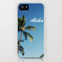 Aloha Palm Trees iPhone Case by Bree Madden  | Society6