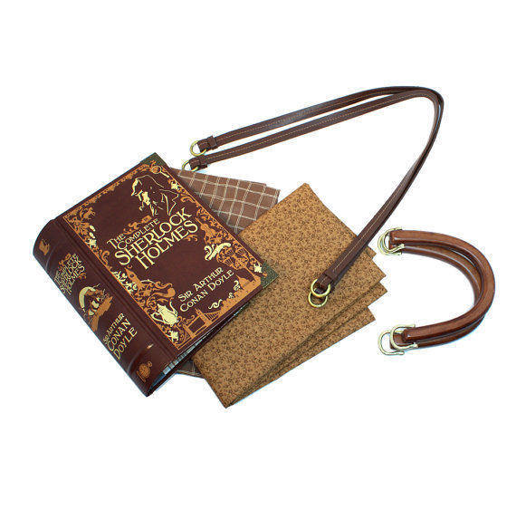 Sherlock Holmes Book Purse Made to order by AlteredDecadence