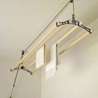 sheila maid ceiling clothes dryer by garden trading | notonthehighstreet.com
