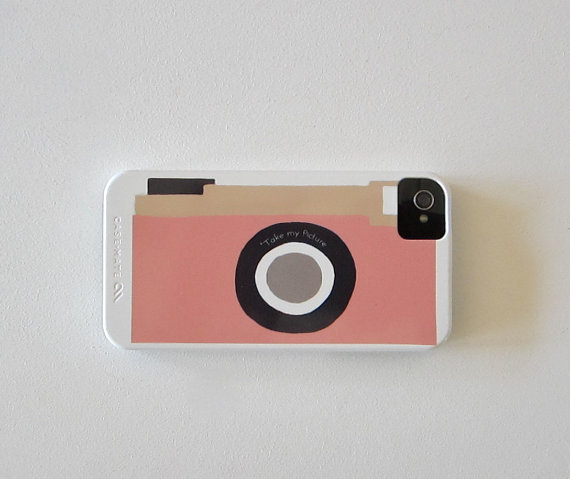Camera Pink Vintage Retro IPhone 4/4s Case Modern Redtilestudio | Luulla