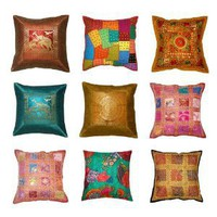 CHRISTMAS INDIAN CUSHION COVER WHOLESALE LOT 2000 PCS @ USD2 EACH, FREE SHIPPING