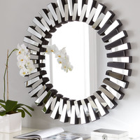 Mingling Slats Mirror