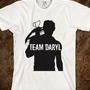 Team Daryl Silhouette