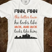 Finn The Better Twin - Awesome Shirts