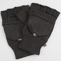 The Flag Fishermans Mittens in Black : Makia : Karmaloop.com - Global Concrete Culture