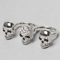 The Two Finger Skull Ring : Soho Collection : Karmaloop.com - Global Concrete Culture