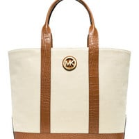 MICHAEL Michael Kors  Large Canvas Tote - Michael Kors
