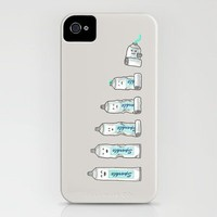 Life is like a tube of toothpaste iPhone Case by Terry Fan | Society6