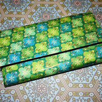 Green and Blue Duct Tape Wallet by craftysarah on Etsy