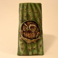 Elf Owl Eyeglass Case by roxannaahlborn on Etsy