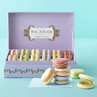 Set of Six Asst Macaroon Limoge Boxes