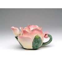 Fine Porcelain Rose Teapot: Amazon.com: Home & Kitchen