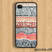 IPHONE 5 CASE Safari Aztec iPhone 4 case iPhone 4S case iPhone case Hard Plastic Case Soft Rubber Case