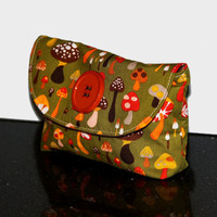 Magic Mushroom Small Clutch by CatandWolfDesigns on Etsy
