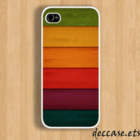 IPHONE 5 CASE - wooden wall - iPhone 4 case,iPhone 4S case,iPhone caseHard Plastic Case Rubber Case
