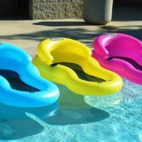 Chill Chair Floating Pool Lounge Pink: Toys & Games