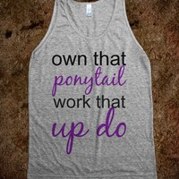 own that ponytail work that up do - A Closet By Jade