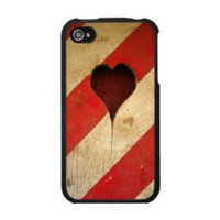 Wood Heart - IPhone 4 Case from Zazzle.com