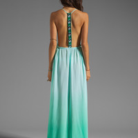WOODLEIGH Veve Maxi Dress in Mint