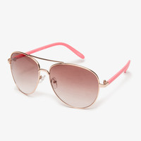 F9094 Aviator Sunglasses | FOREVER21 - 1011379094