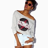 Bazinga Graphic French Terry Pullover | FOREVER 21 - 2063045449