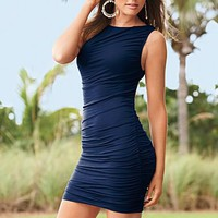 Ruched sleeveless dress from VENUS