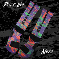 KDIV Nerf Custom Nike Elite Socks | Rock 'Em Apparel