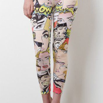 Comical Love Leggings